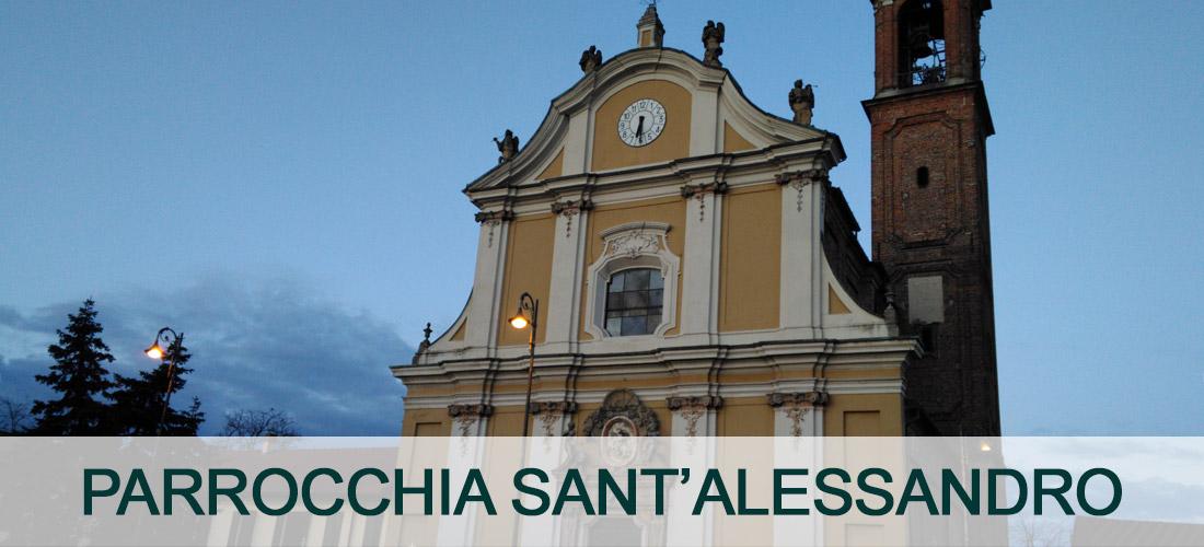 Parrocchia di Sant'Alessandro a Pieve Emanuele. Ingresso Principale